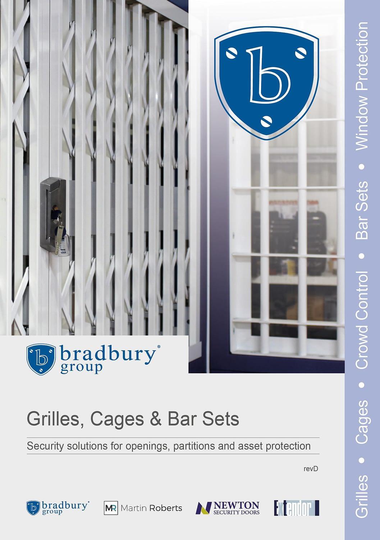 security bar sets, security kiosks, security rated doors