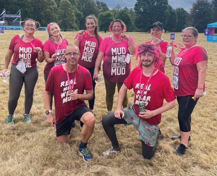 Race for life Pretty Muddy group